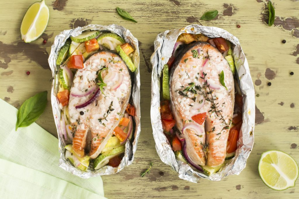 Baked Salmon in Foil 1