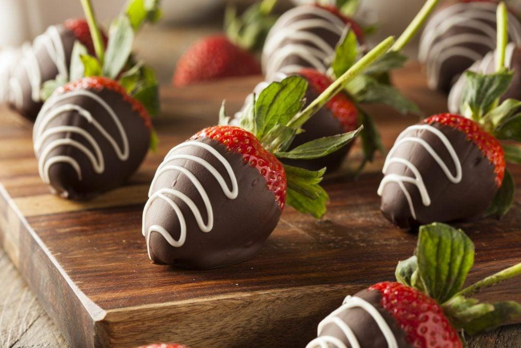 Chocolate Strawberries 2