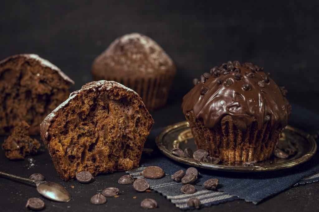 Chocolate Zucchini Muffins 2