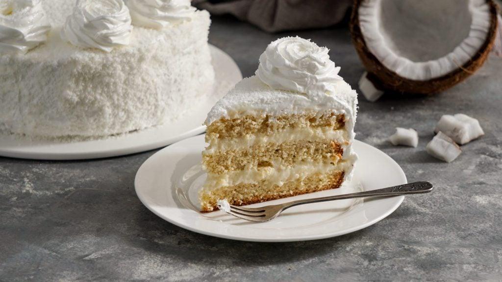 Moist Coconut Flour Cake 2