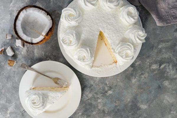 Moist Coconut Flour Cake