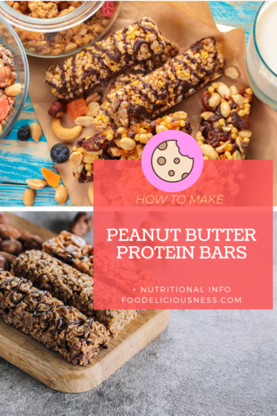 Peanut Butter Protein Bars pin