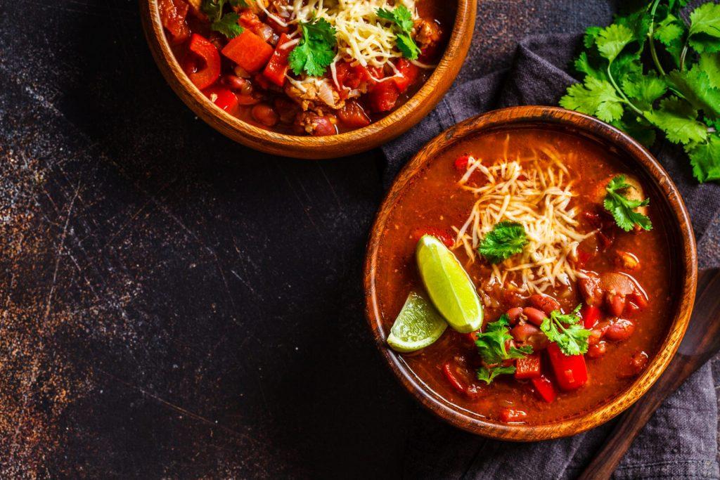 pumpkin quinoa chili recipe