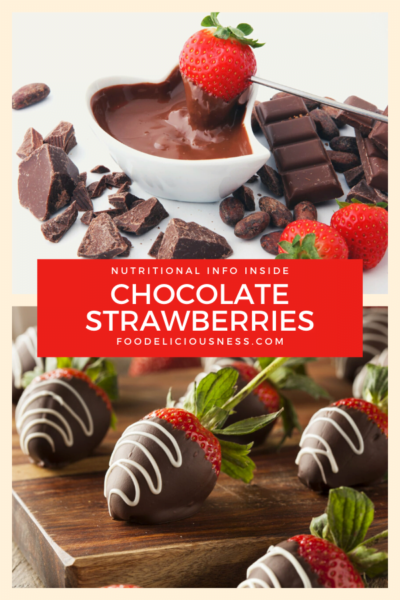 chocolate strawberries pin