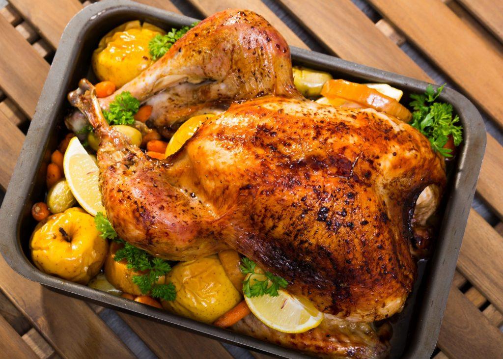 garlic herb roasted chicken recipe