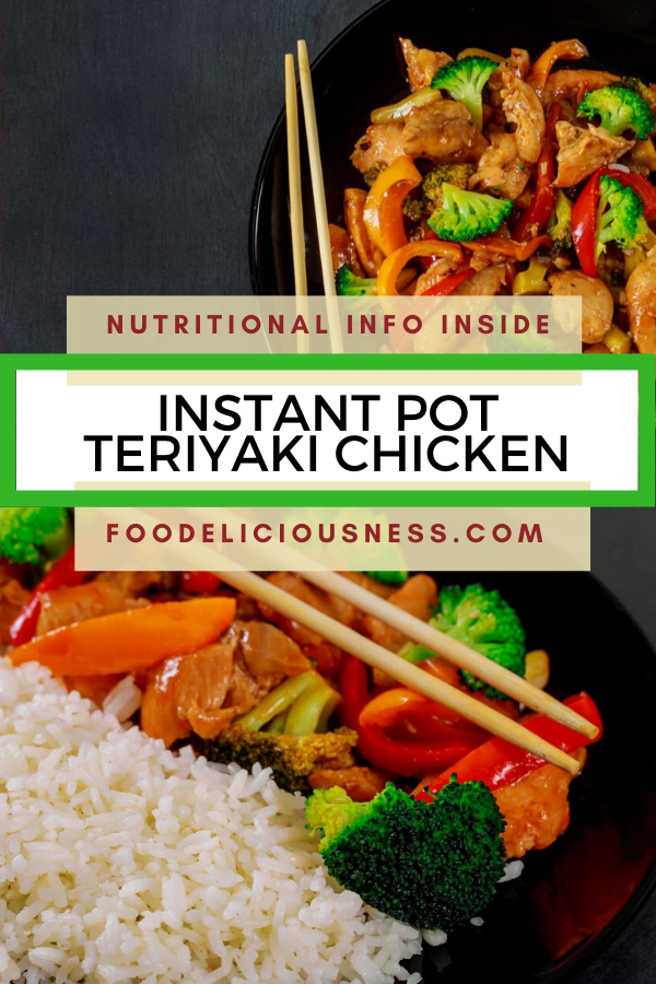instant pot teriyaki chicken pin