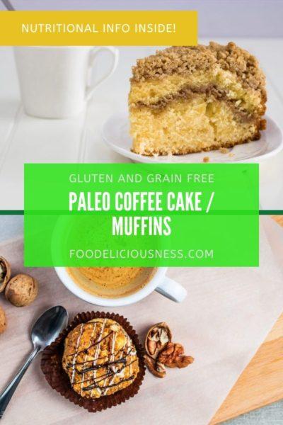 paleo coffee cake