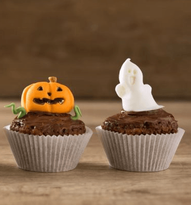 pumpkin-and-ghost-cupcake