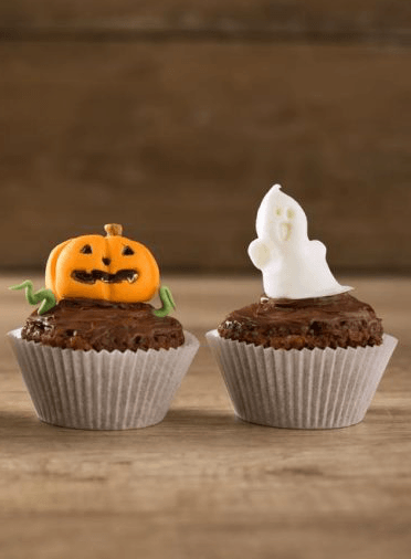 pumpkin-and-ghost-cupcake