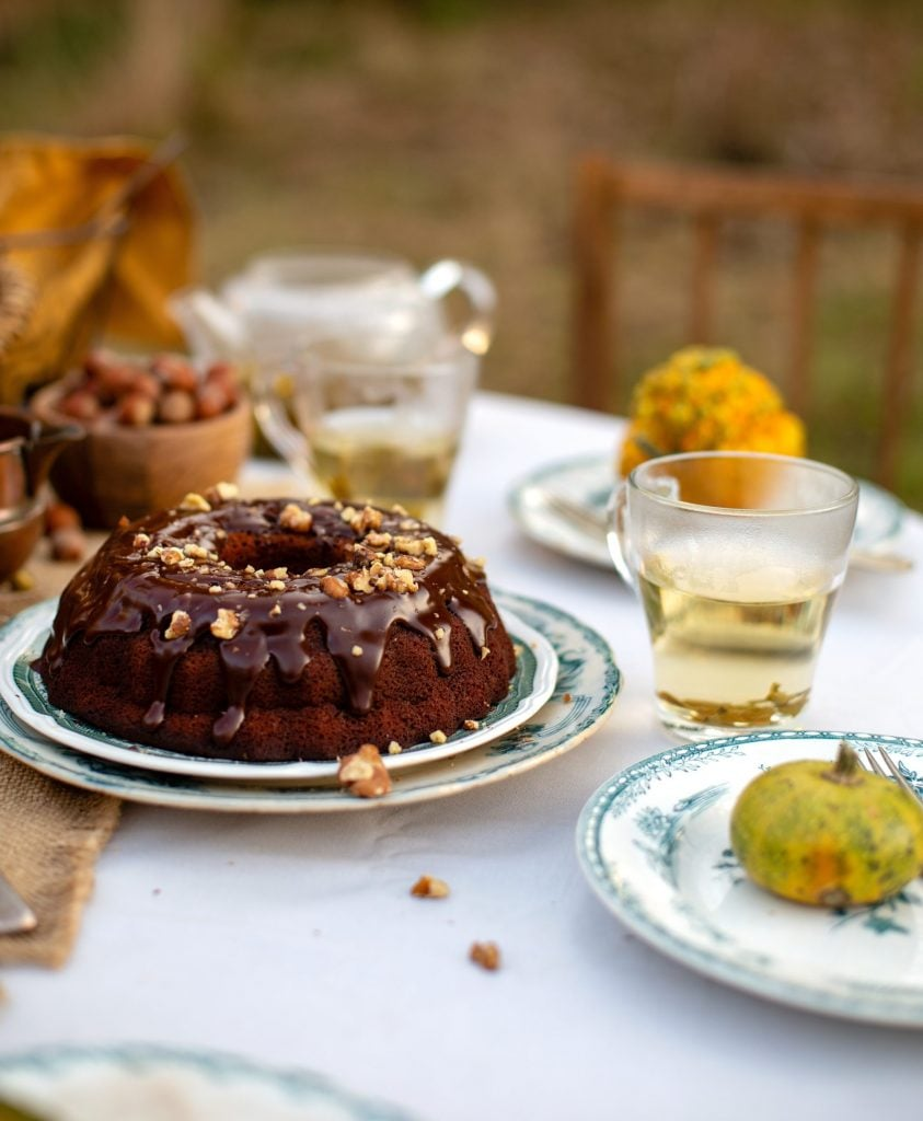 pumpkin truffle bundt cake recipe