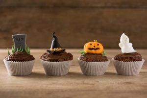 RIP witch hallowen cupcake recipe