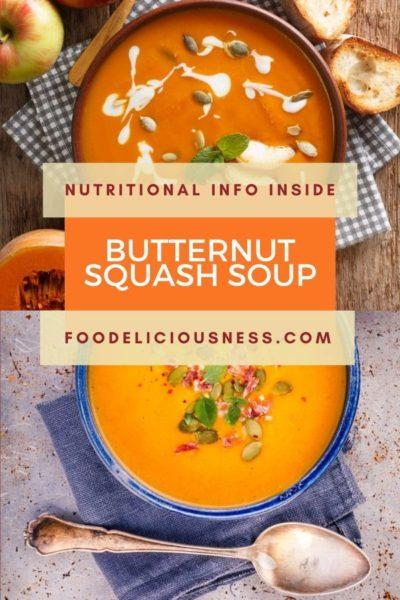 Crockpot Butternut Squash Soup recipe