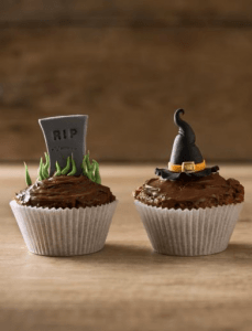 Tasty cupcakes for hallowen