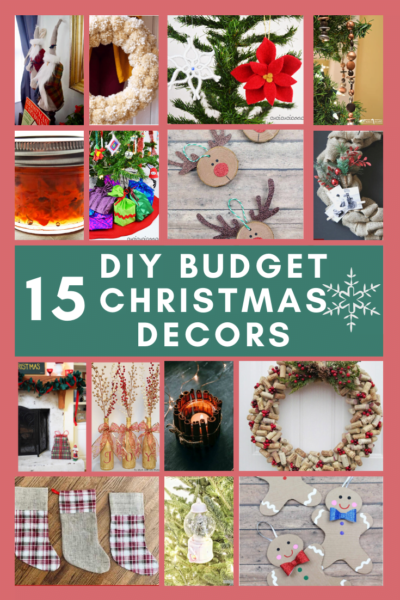 THE YULETIDE SEASON is fast approaching and you are starting to look for cool DIY Christmas Decors that are budget-friendly. Here are great and easy to do 15 Christmas decors even your kids will enjoy doing it with you! #diybudgetchristmasdecors #diychristmasdecors #Christmasdecors #budgetrendlychristmasdecor @foodeliciousness