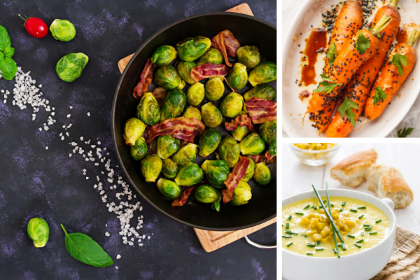 3 Amazing Thanksgiving Vegetable Side Dishes cover