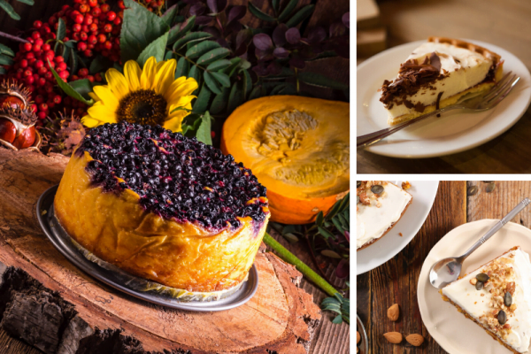 3 Pumpkin Cake Cheesecake Desserts for this Thanksgiving cover