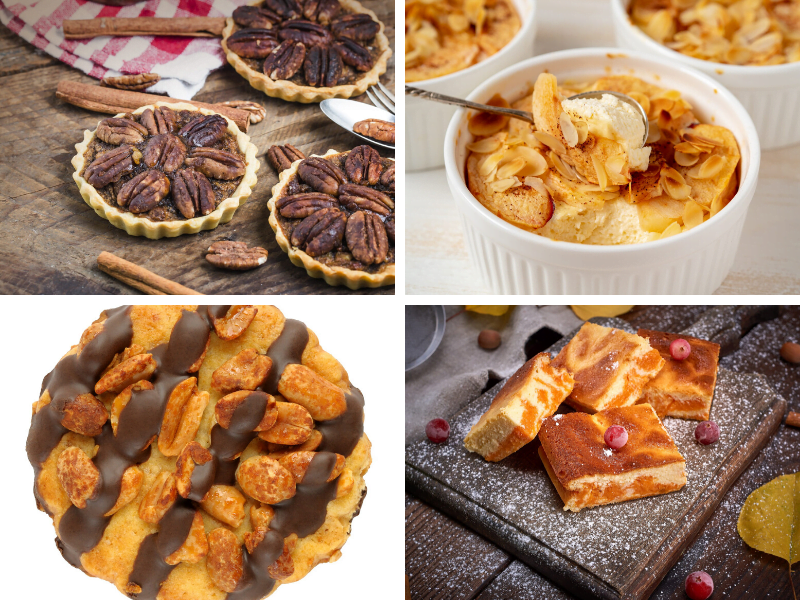 4 Easy Thanksgiving Desserts cover
