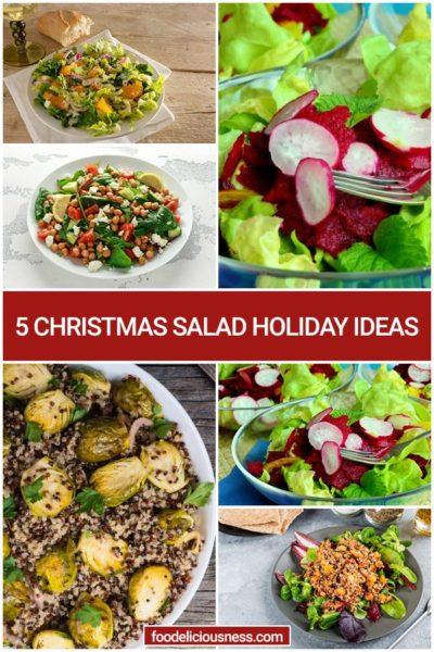 5 Christmas Salad Holiday Ideas