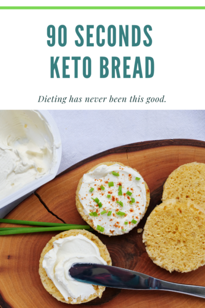 IN A HURRY AND WANT AN INSTANT BREAD?- Here is the perfect keto bread for you and it is super easy and will only take 90 seconds to bake. with just 4 or 5 simple ingredients and mix them up in a microwavable mug or ramekin, put in a microwave oven and set it to 90 seconds and you\'ll have one of the healthiest bread that you can make in a jiffy. #90secketobread #90secsket #almondbreadalmond #almondflourbread  @foodeliciousness