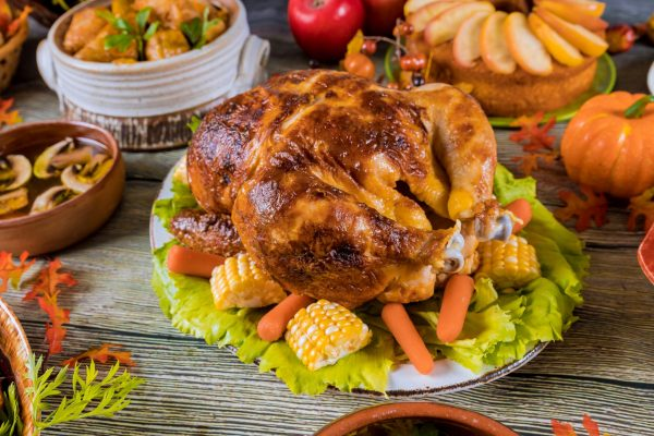 Apple Cider Roast Turkey
