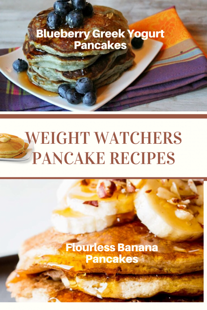 Blueberry Greek Yogurt and Flourless Banana PanCake