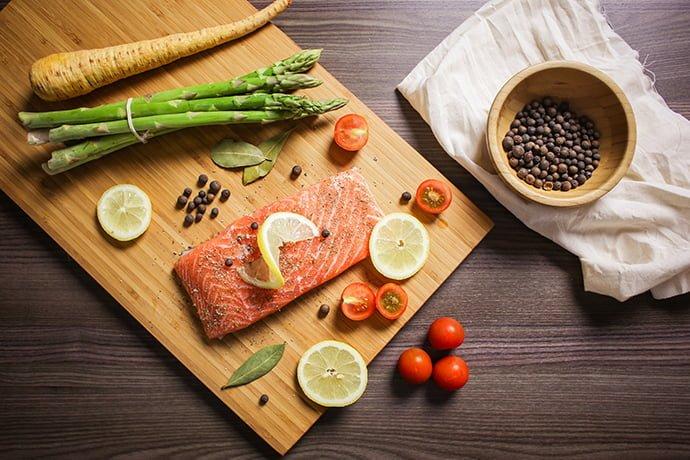 Baked Salmon Veggie Recipe 2