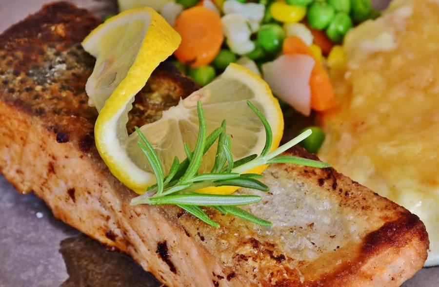 Baked Salmon Veggie Recipe FI