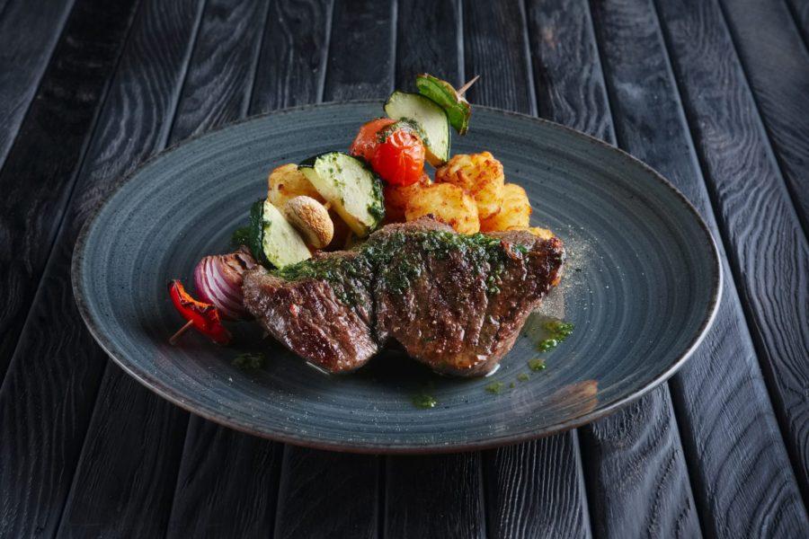Balsamic Steak with Garlic Zucchini 2