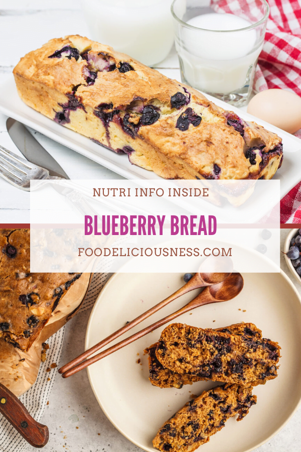 Blueberry Bread pin