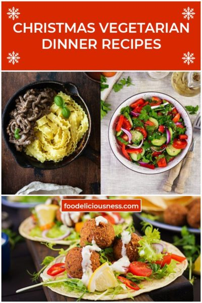 Christmas Vegetarian Dinner Recipes 2