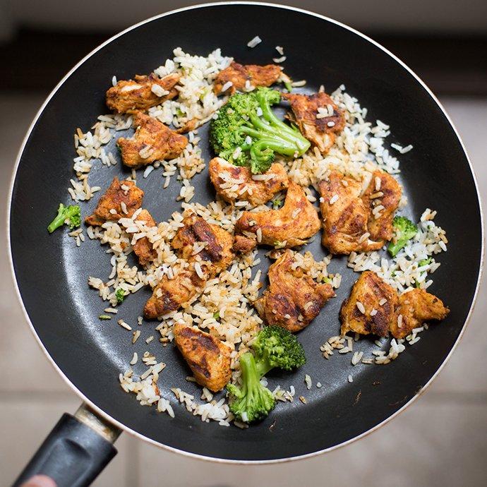 Creamy Chicken Rice 1