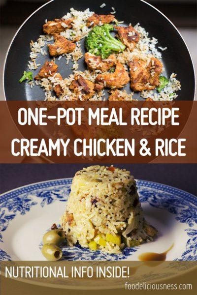 Creamy Chicken Rice Pin