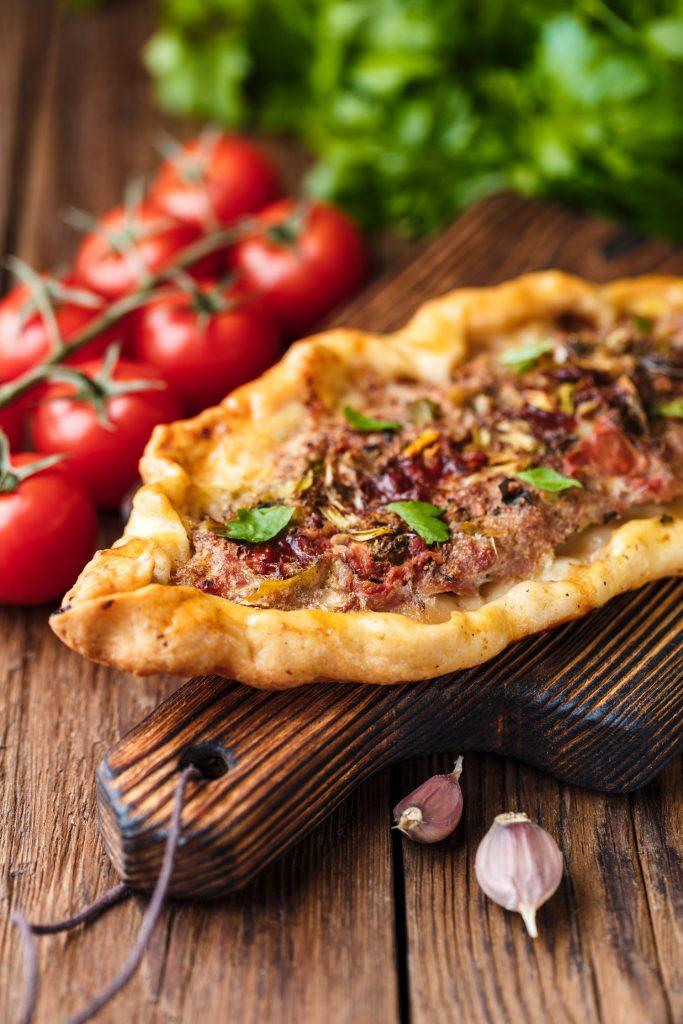 Deep Dish Beef 'n' Bean Taco Pizza 2