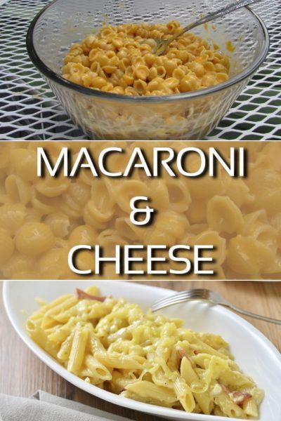 Delightful Macaroni Cheese Recipe Pin