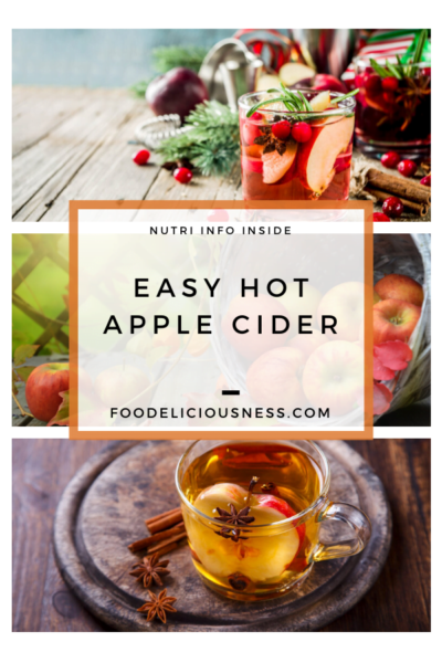 Easy Hot Apple Cider pin