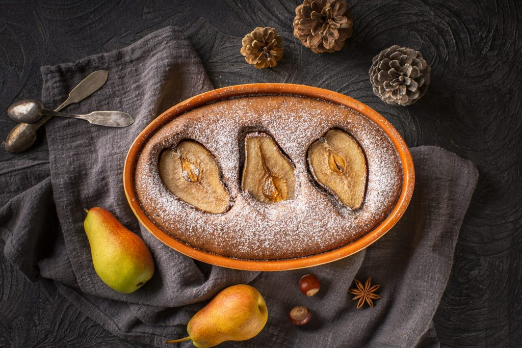 Easy Pear Clafouti