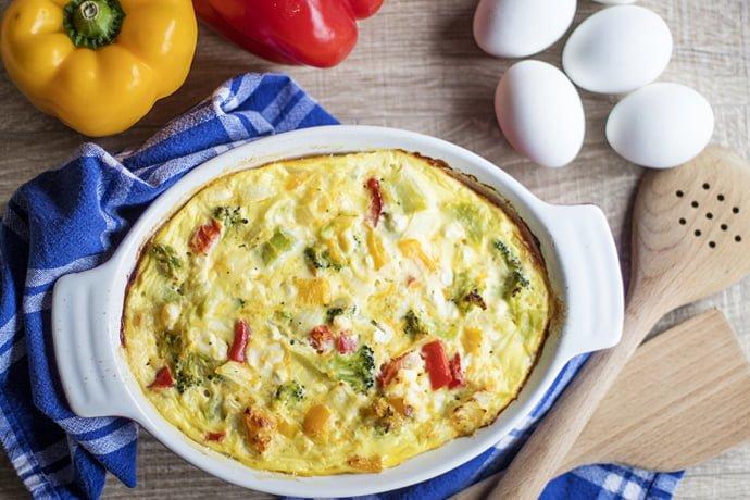 Eggs Benedict Casserole for Breakfast