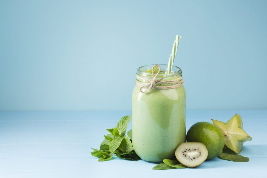 GREEN VEGAN PROTEIN SMOOTHIE 2