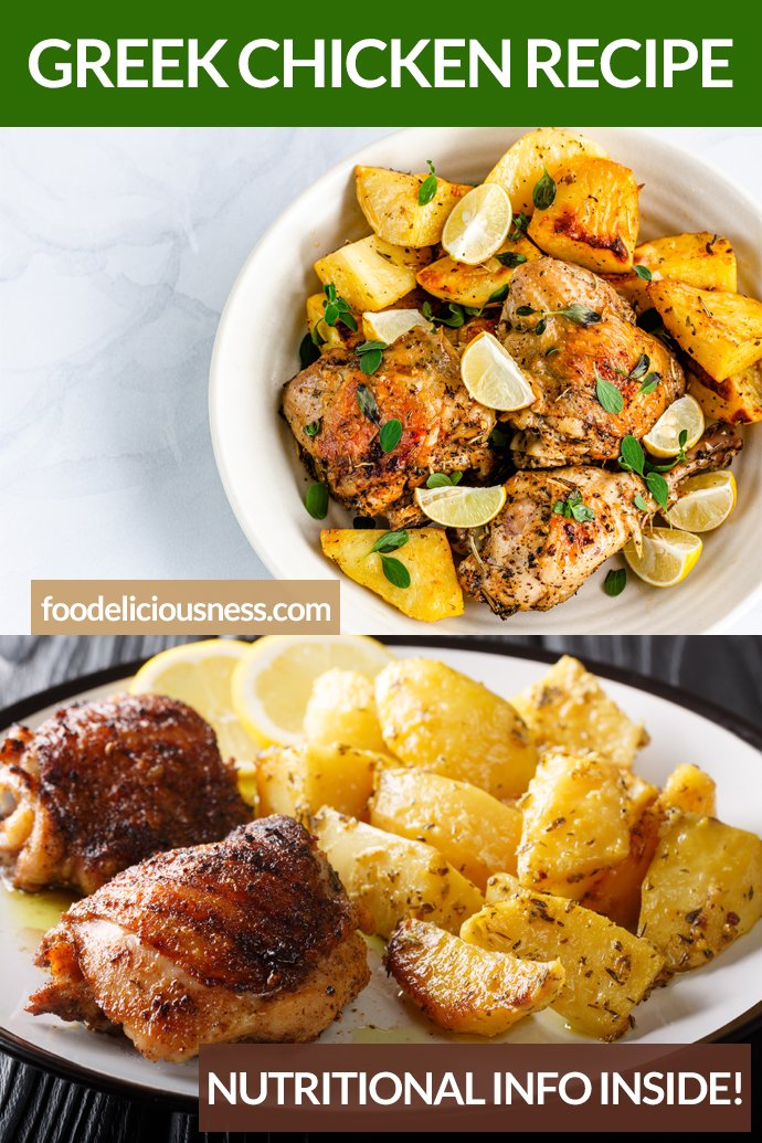 Greek Chicken Recipe pIN