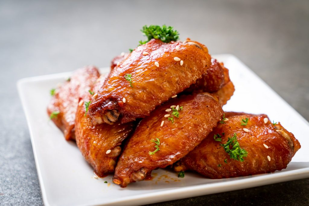 Healthy Ginger Sesame Chicken Wings 2
