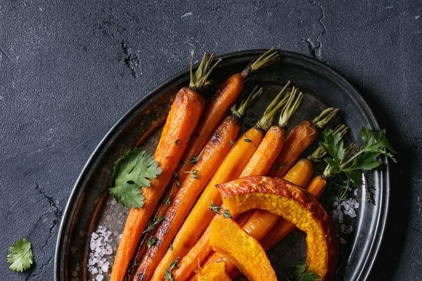 Honey Maple Roasted Carrots 3