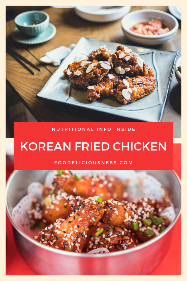 KOREAN FRIED CHICKEN pin