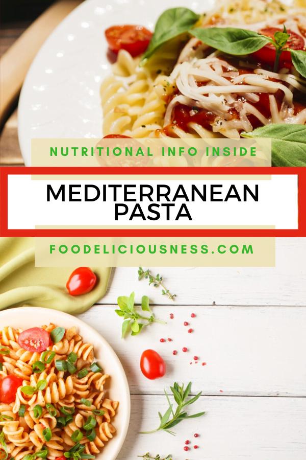 Mediterranean Pasta pin