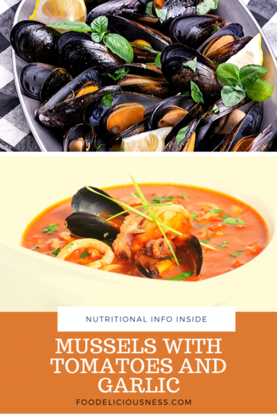Mussels with Tomatoes and Garlic pin