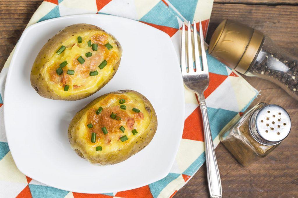Parmesan Chive Smashed Potatoes 3