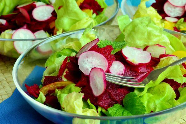 Radish Cucumber Salad