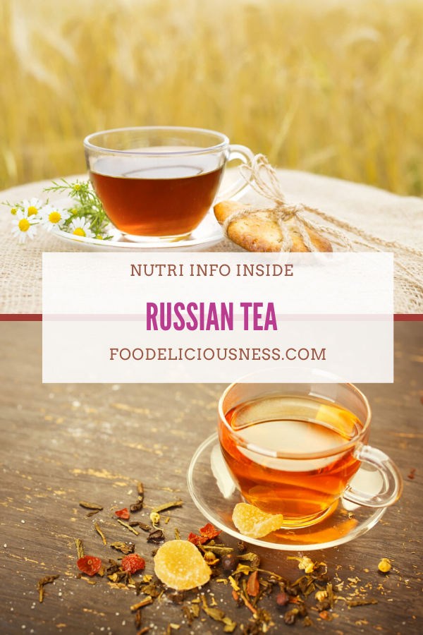Russian Tea pin