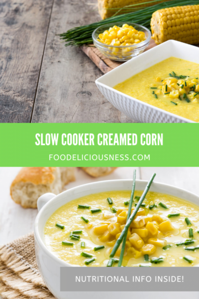 SLOW COOKER CREAMED CORN pin