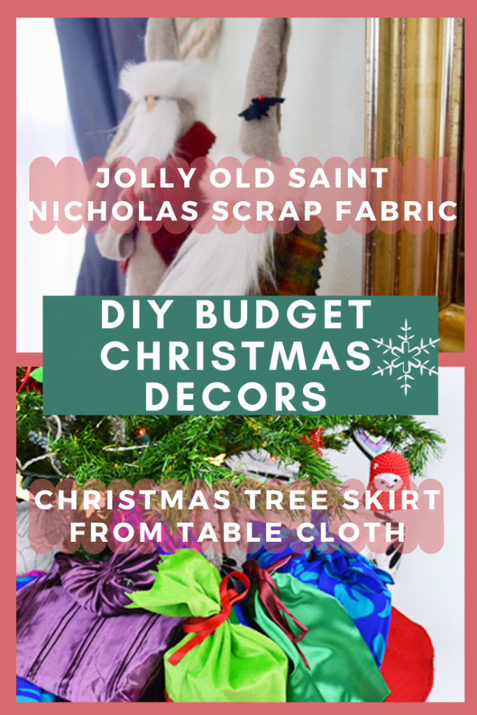 Saint Nicholas and Christmas Tree Skirt 1