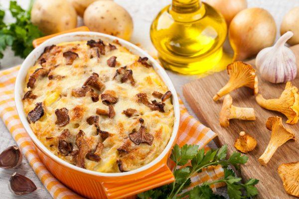Slow Cooker Scalloped Potatoes